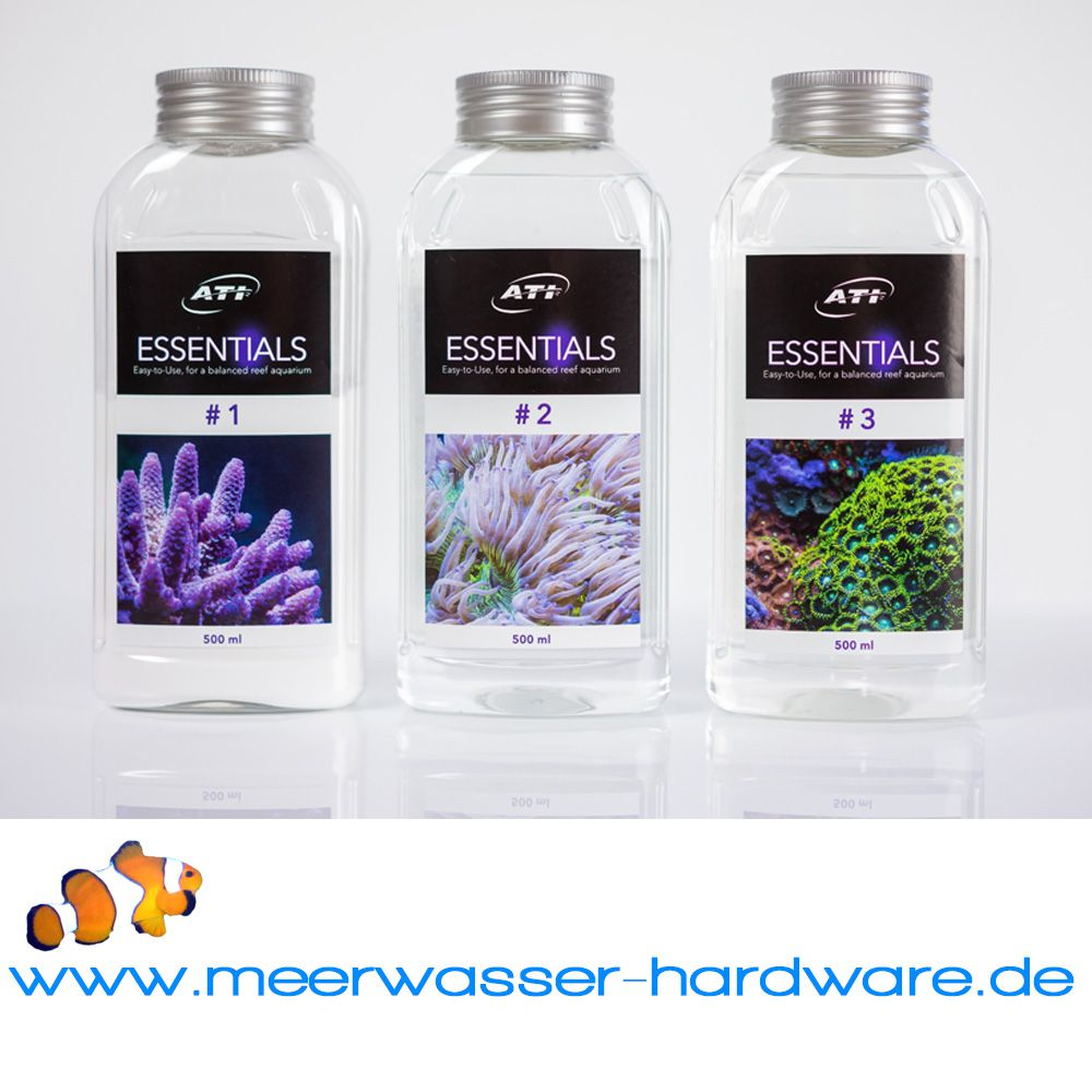 Ati essentials set grundversorgungssystem meerwasser for Meerwasser shop