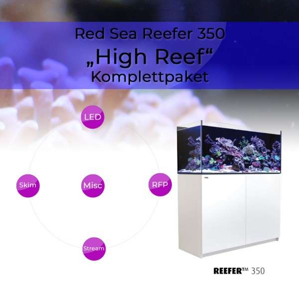 Red Sea Reefer 350 Komplettpaket - High Reef