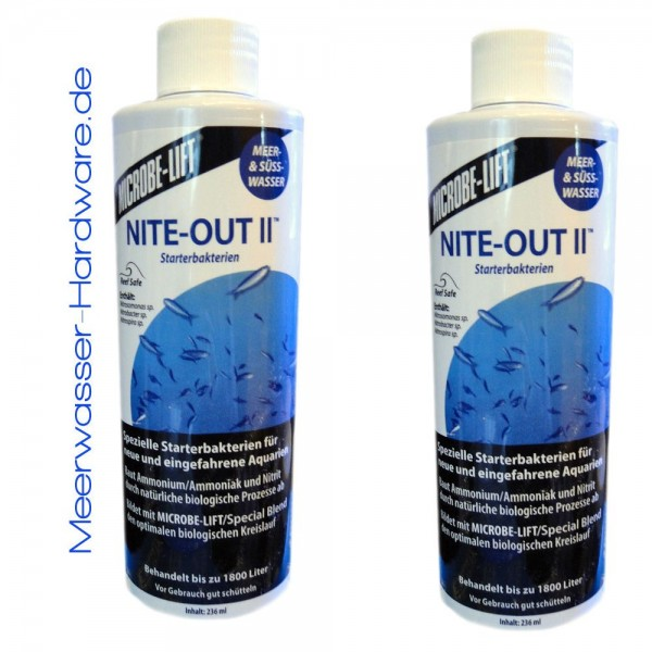 Microbe Lift Nite-Out II 473 ml Doppelpack