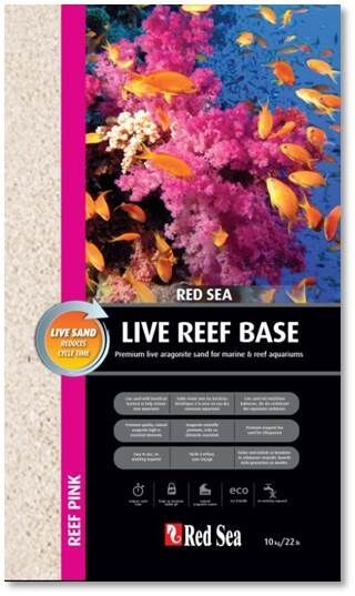 Red Sea Reef Base Pink (Live Sand) 0,5-1,5 mm - 10 kg