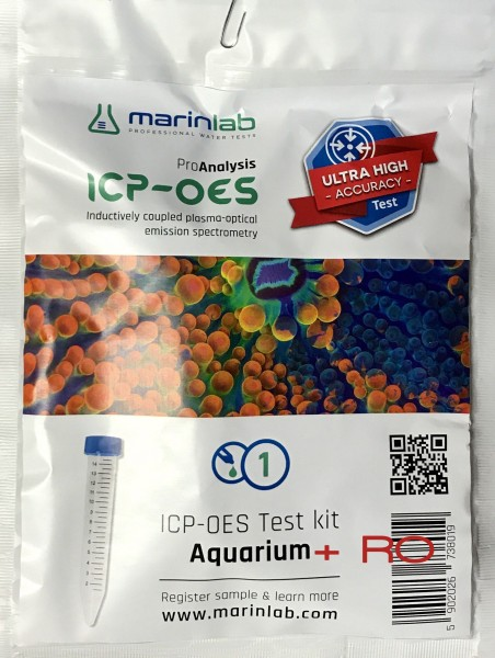 Marinlab ICP-OES Analyse (Aquarium+RO)