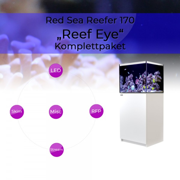 Red Sea Reefer 170 Komplettpaket - Reefs Eye