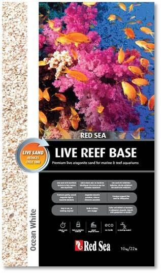 Red Sea Reef Ocean White (Live Sand) 0,25-1,0 mm - 10 kg